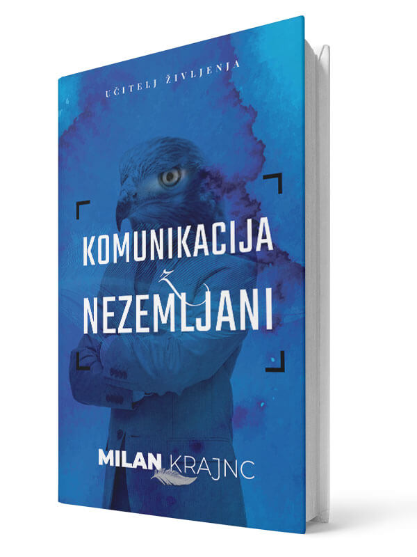 Komunikacija z nezemljani. Milan Krajnc. Tiskana knjiga.