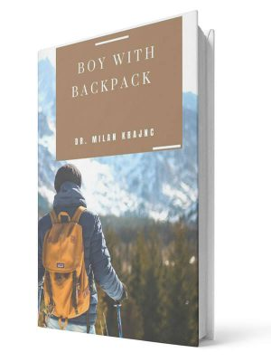 Boy with backpack | E-book - Milan Krajnc ; Personal and Business Coach