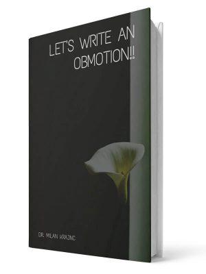 Let write an obmotion | E-book - Milan Krajnc ; Personal and Business Coach