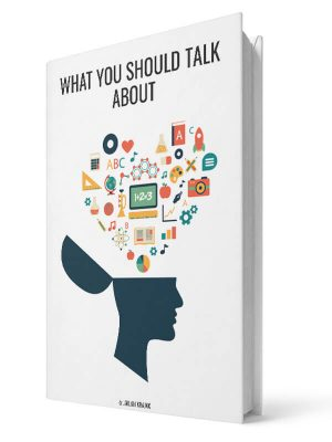 What you should talk about | E-book - Milan Krajnc ; Personal and Business Coach